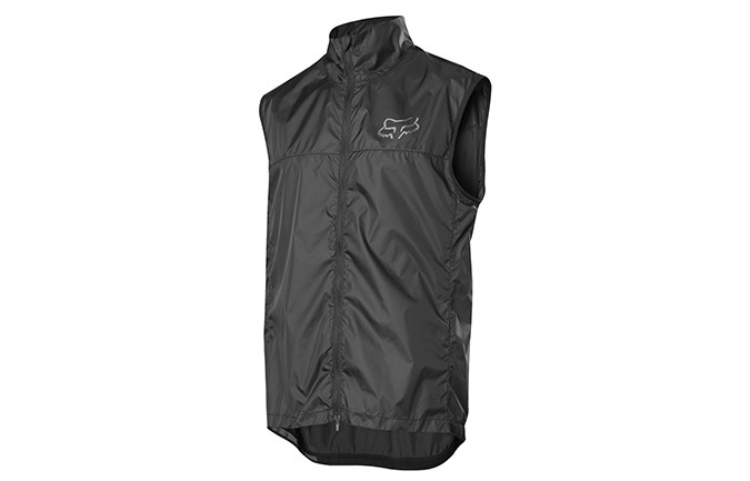 FOX DEFEND SLEEVELESS WIND JACKET BLACK 2019