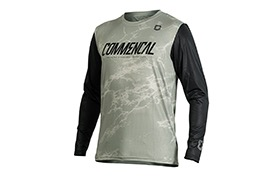 COMMENCAL LONG SLEEVE JERSEY HERITAGE GREEN 2020