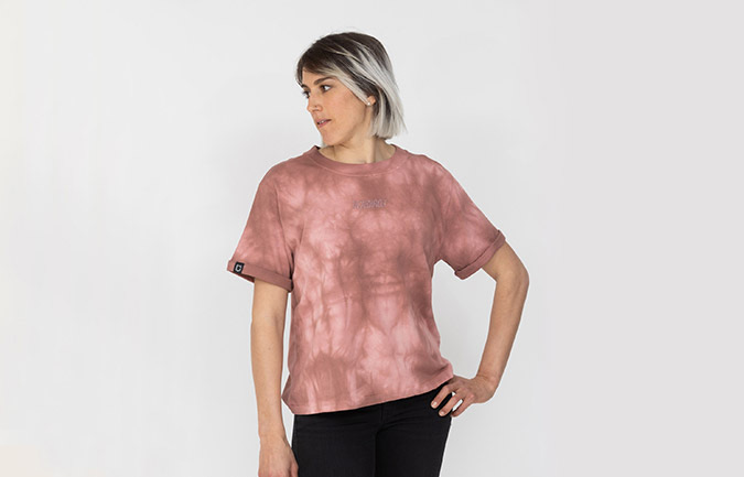 COMMENCAL WOMEN TIE & DYE T-SHIRT