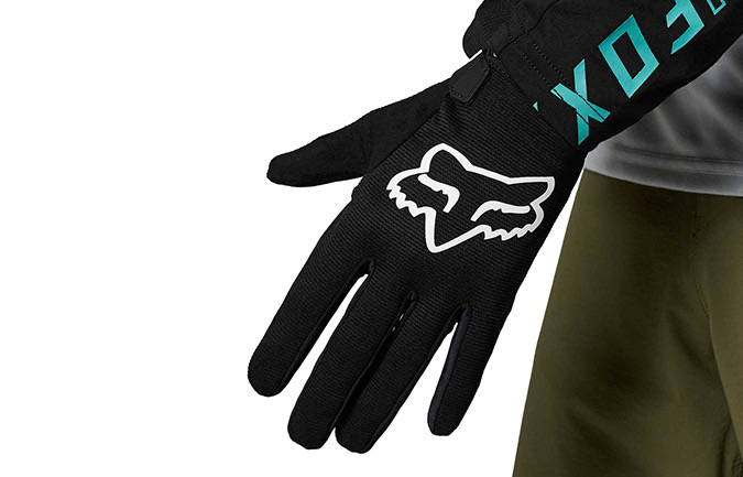 FOX HEAD KIDS RANGER GLOVES BLACK
