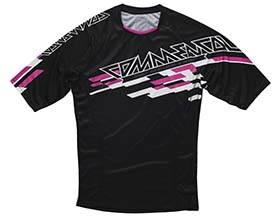 JERSEY SHORT SLEEVE ENDURO PINK 2015