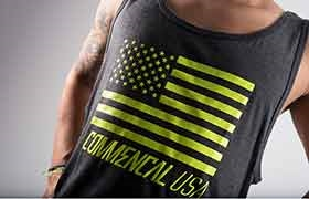 TANK TOP YELLOW COMMENCAL USA