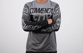 COMMENCAL JERSEY BY FOX HEAD GREY 2016