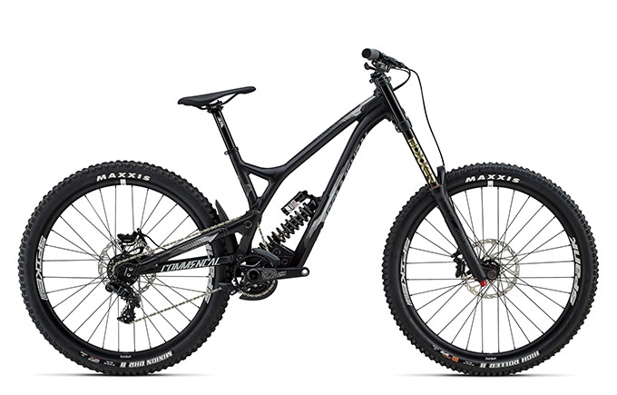 SUPREME DH V4.2 RACE 650B BLACK 2017