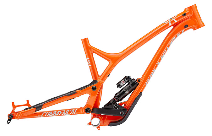 VIP SUPREME SX 650B ORANGE 2018