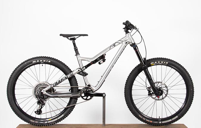 META AM V4.2 RACE EAGLE 650B BRUSHED 2017 (S)