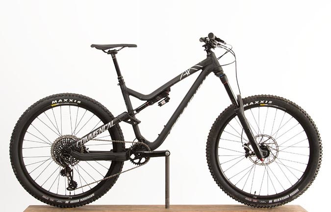 META AM V4.2 RACE EAGLE 650B BLACK 2017 (M)