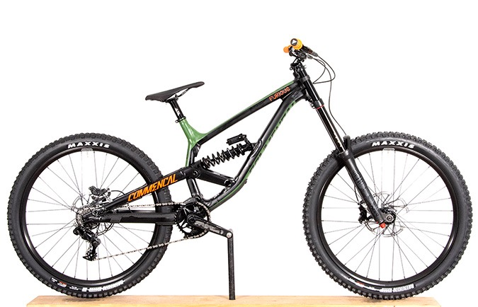 FURIOUS BRITISH COLUMBIA 650B GREEN/ORANGE/BLACK 2018 (L)