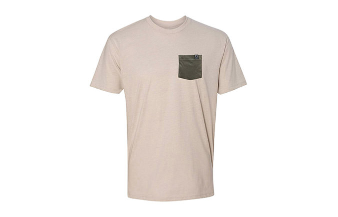 BASIC T-SHIRT SAND / GREEN 2018