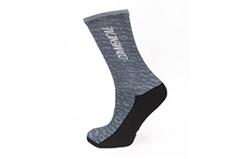 COMMENCAL PRINTED GREY SOCKS