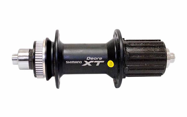 SHIMANO XT DISC REAR HUB, 9x135 mm AXLE, 32 HOLES, BLACK