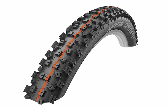 SCHWALBE NEW HANS DAMPF 29 X 2.35 SUPER GRAVITY ADDIX SOFT