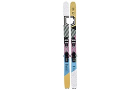 COMMENCAL SUPREME SKIS 186 + MARKER GRIFFON 13 BINDINGS ID