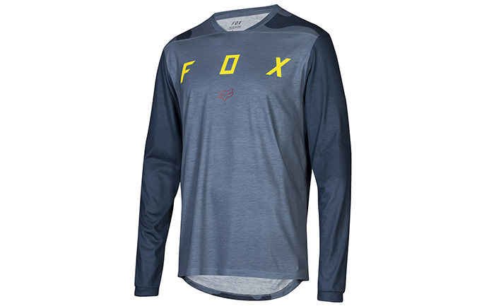 FOX INDICATOR LS MASH LONG SLEEVE JERSEY CAMO BLUE STL