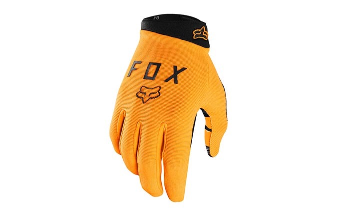 FOX KIDS RANGER GLOVES OPEN ORANGE 2019