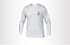 COMMENCAL LONG SLEEVE JERSEY LIGHT GREY
