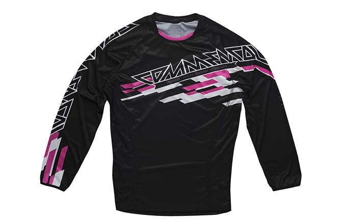 JERSEY LONG SLEEVE ENDURO PINK 2015