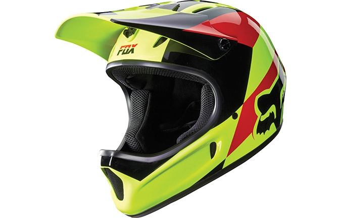 FOX HEAD RAMPAGE MAKO HELMET 2016