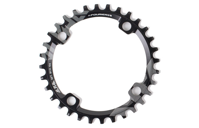 RIDE ALPHA 34T NARROW WIDE CHAIN RING 2016