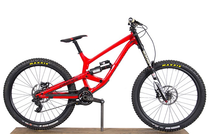 FURIOUS RACE 650B RED ALC 2017 (L)