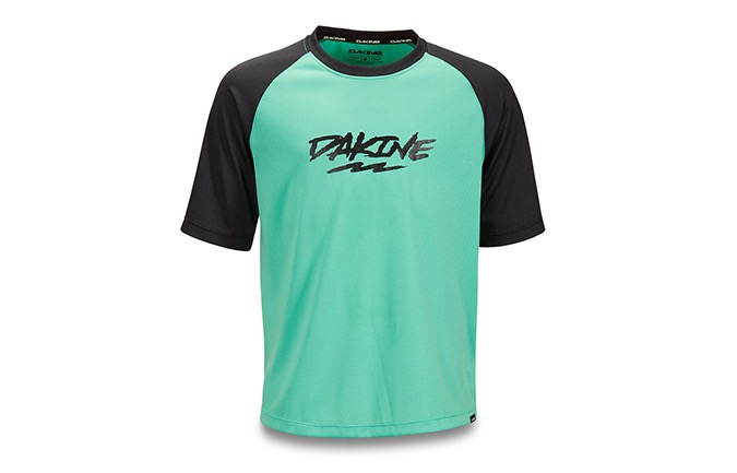 DAKINES KIDS SHORT SLEEVES PRODIGY JERSEY ELECTRIC MINT 2019