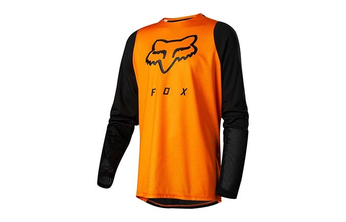 FOX KIDS DEFEND LONG SLEEVE JERSEY OPEN ORANGE 2019