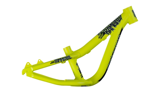 FRAME RAMONES 12 YELLOW W/ DECALS 2015