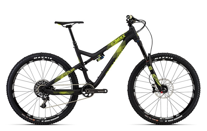 META AM V4 WORLD CUP 650B BLACK ANODIZED 2016