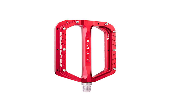 BURGTEC PENTHOUSE FLAT MK5 PEDALS RACE RED