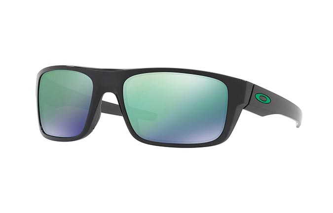 SUNGLASSES OAKLEY DROP POINT BLACK INK/JADE IRIDIUM