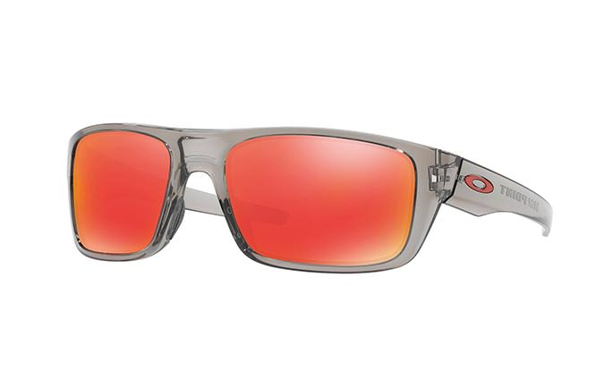 SUNGLASSES OAKLEY DROP POINT GREY INK/RUBY IRIDIUM