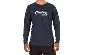 T-SHIRT LONG SLEEVE BUBBLE NAVY