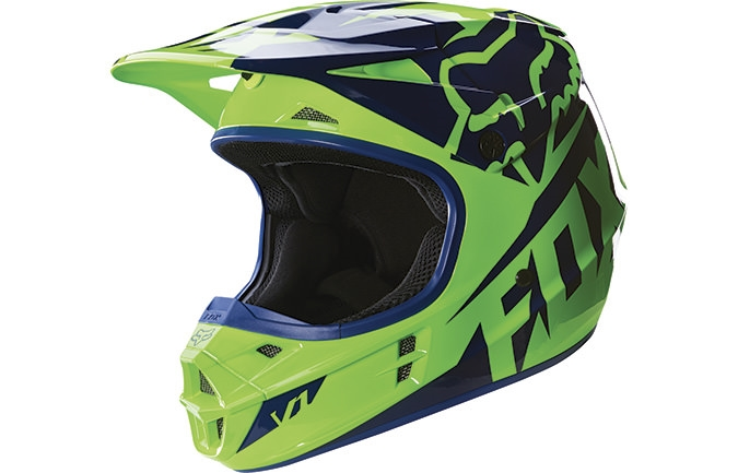 FOX HEAD YOUTH V1 RACE HELMET