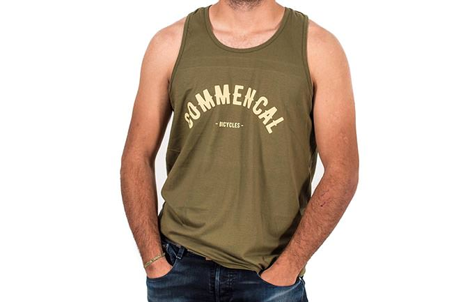TANK TOP COLLEGE MILITARY GREEN 2018