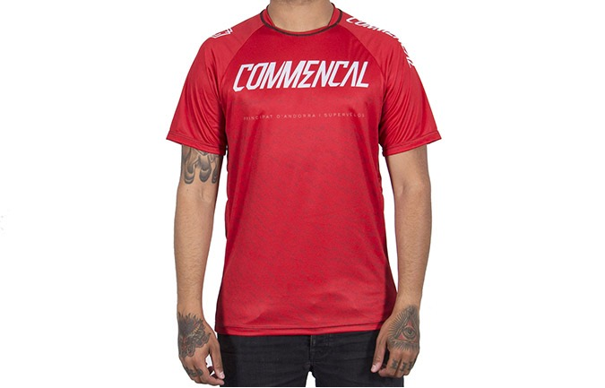 SHORT SLEEVE COMMENCAL JERSEY RED 2019