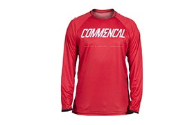 LONG SLEEVE COMMENCAL JERSEY RED