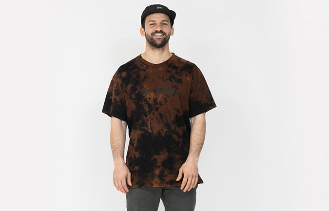 COMMENCAL MEN TIE & DYE T-SHIRT