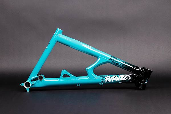 FRONT TRIANGLE FURIOUS BLACK/BLUE 2009 (L)