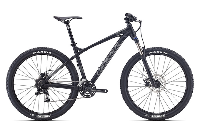 META HT TRAIL RIDE 650B BLACK 2017