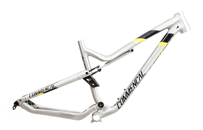 FRAME META AM V4.2 650B BRUSHED/YELLOW TEAM 2018
