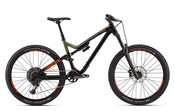 META AM V4.2 BRITISH COLUMBIA GREEN/ORANGE/BLACK 650B 2018