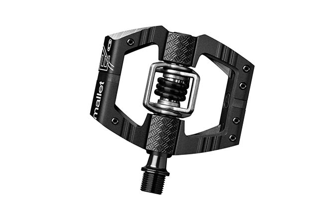 CRANKBROTHERS MALLET E BLACK PEDALS