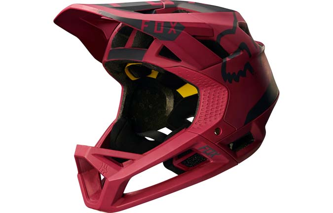FOX PROFRAME HELMET DARK RED