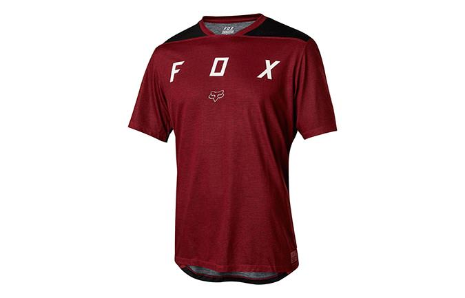FOX YOUTH INDICATOR SHORT SLEEVE JERSEY DARK RED 2018