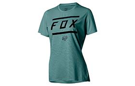 FOX WOMEN RIPLEY SHORT SLEEVE BARS JERSEY
