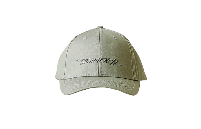 COMMENCAL CURVED PEAK TRUCKER CAP KHAKI 2020