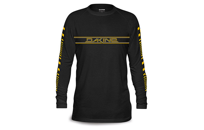 DAKINE LONG SLEEVE STINGRAY TECH-TEE BLACK